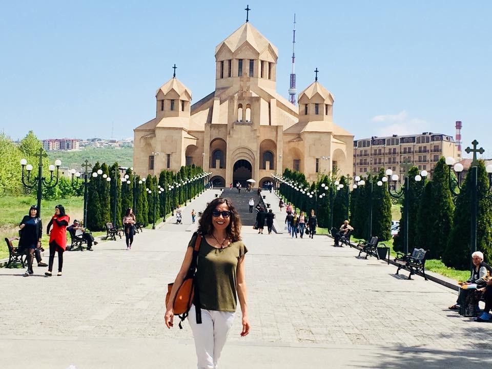 Ermenistan'da Solo Seyahat Aziz Krikor Lusavoriç Katedrali