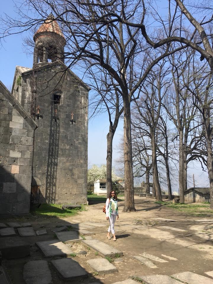 Ermenistan'da Solo Seyahat Sanahin Manastırı