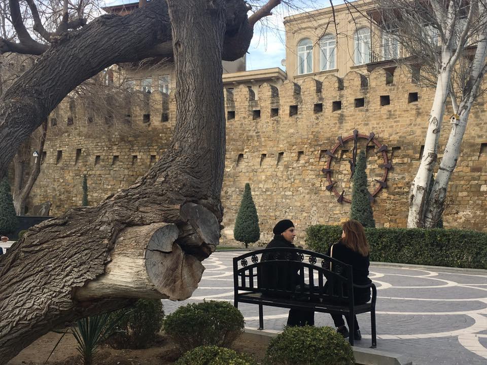 Eski Şehrin Surları - Bakü