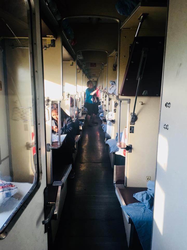 Ermenistan'da Solo Seyahat Tiflis-Erivan Yataklı Tren