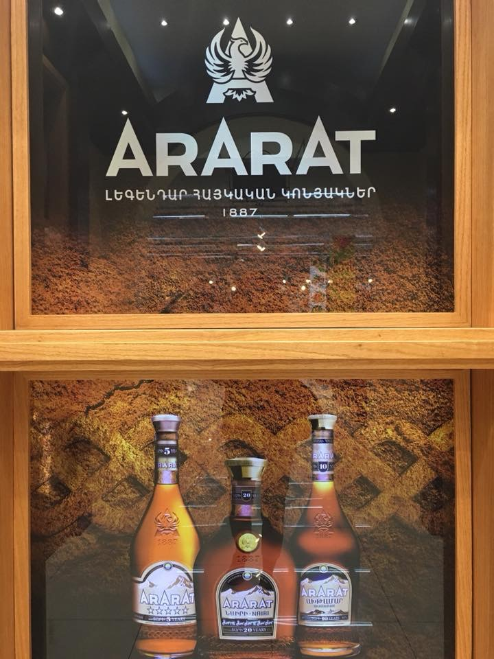Ermenistan'da Solo Seyahat Ararat Brandy