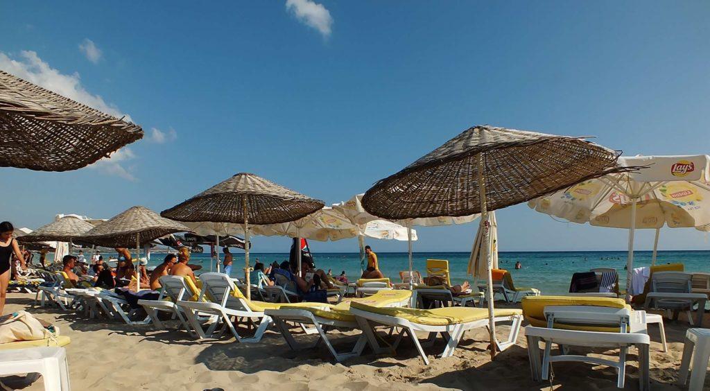 Sığacık Plajları Akkum Plajı