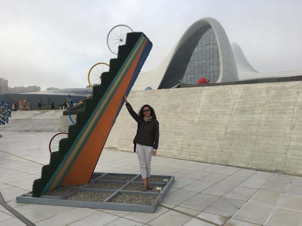 Haydar Aliyev Kültür Merkezi Bakü