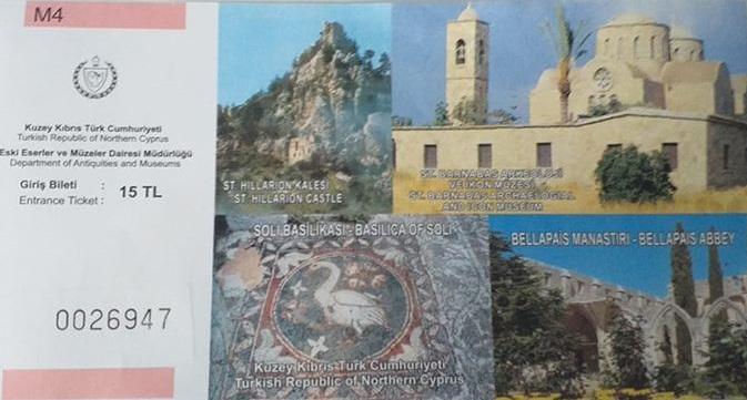Bellapais Manastırı Giriş Bileti