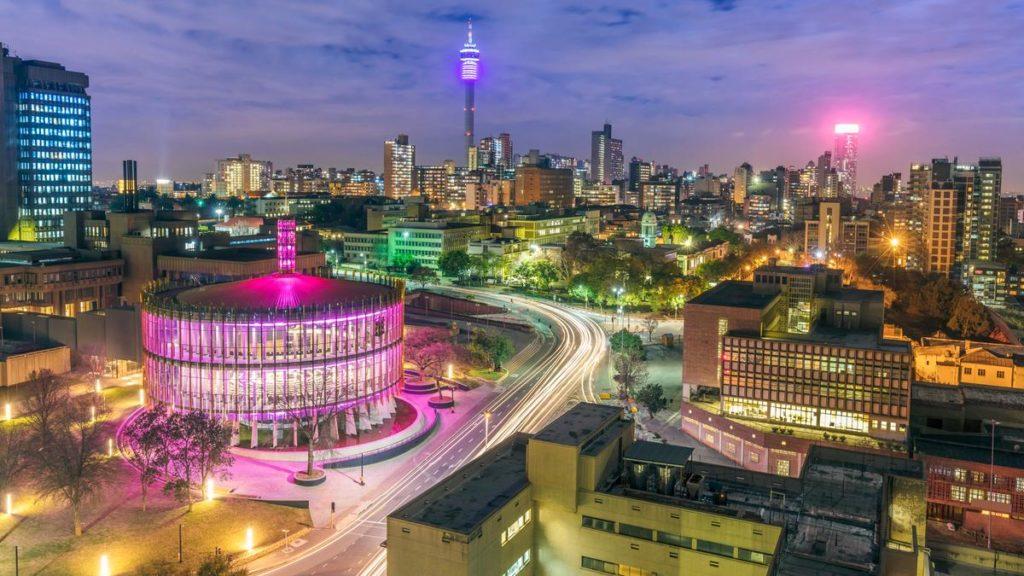 Bir Dünya Metropolü Johannesburg