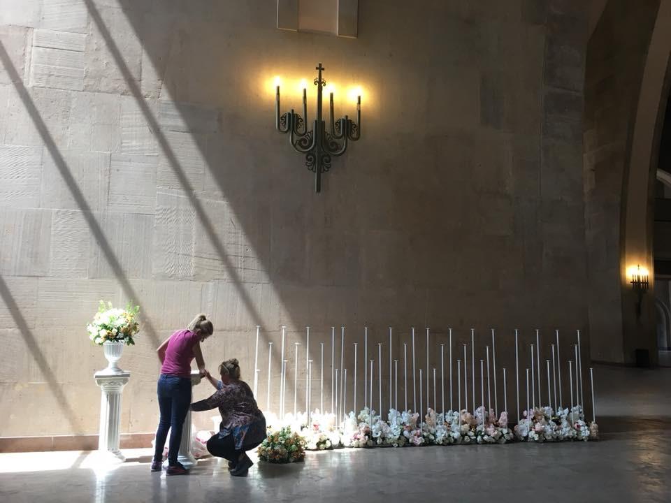 Aziz Krikor Lusavoriç Katedrali Erivan Düğün Hazırlığı
