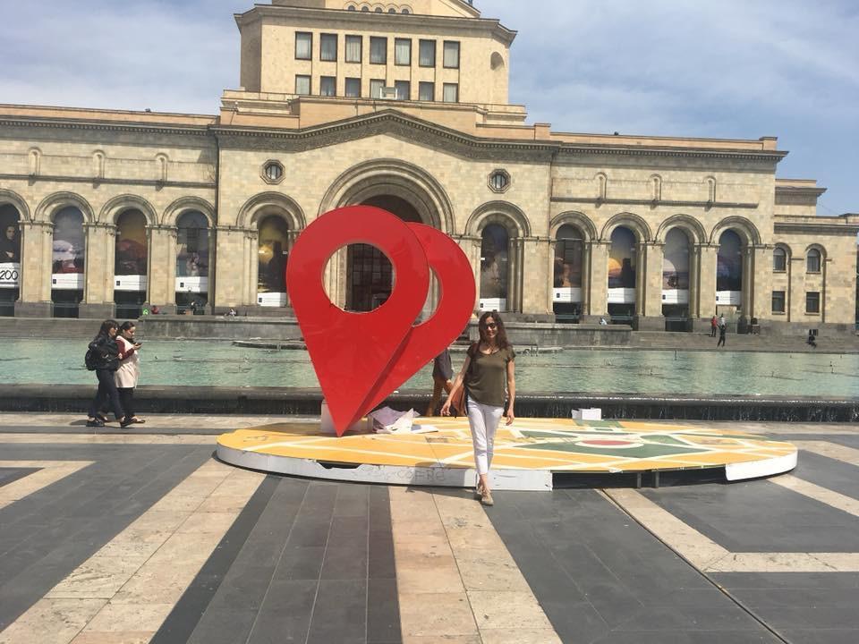 Ermenistan'da Solo Seyahat Cumhuriyet Meydanı