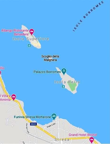 Borromeo Adaları(Isole Borromee)
