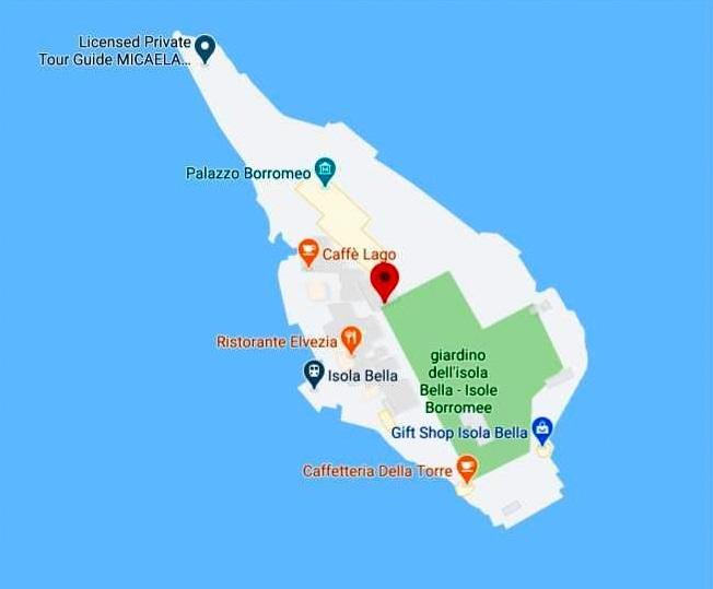 Isola Bella Haritası