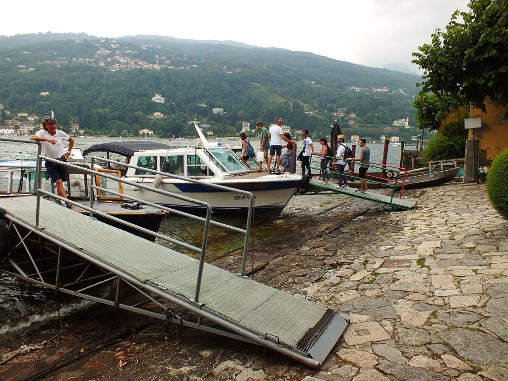 Isola Bella'ya Ulaşım