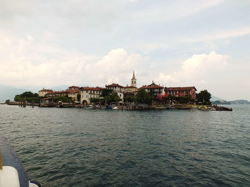 Isola Superiore'ye Ulaşım