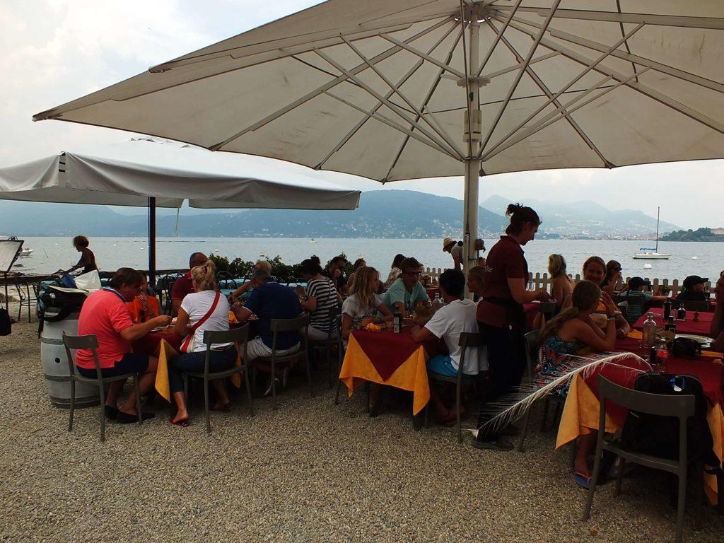Isola Superiore Restoranları