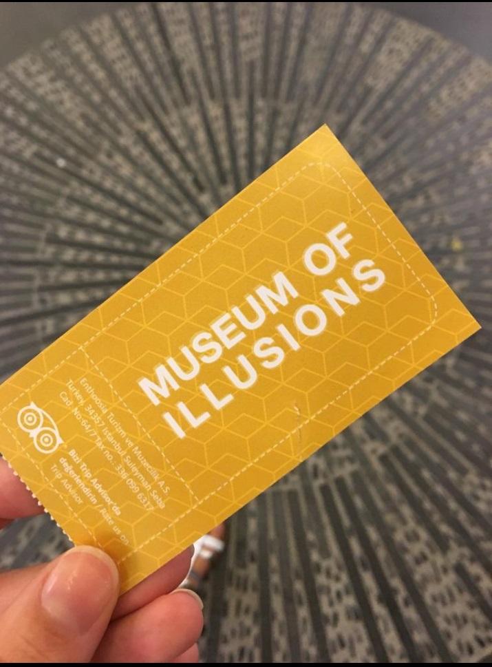 Museum of Illusions Giriş Bileti