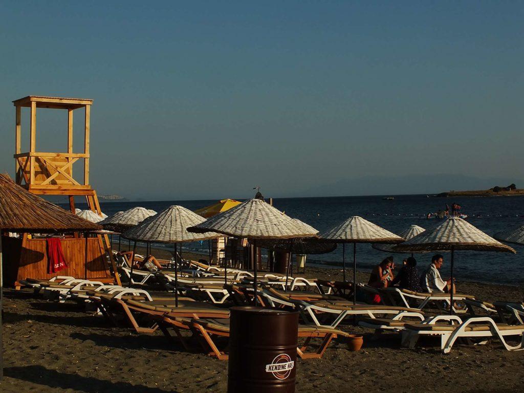 Sığacık Plajları Akarcalı Plajı