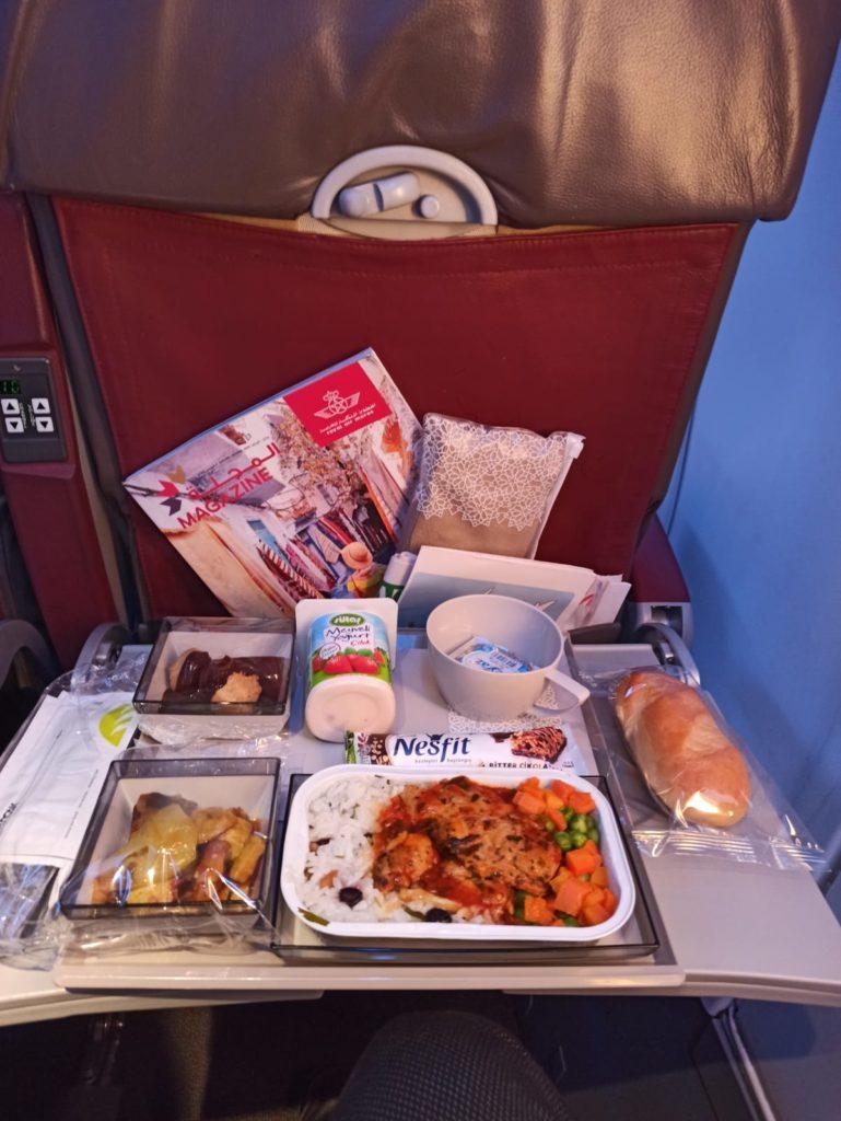 Royal Air Maroc ile Kazablanka Uçak Yemeği