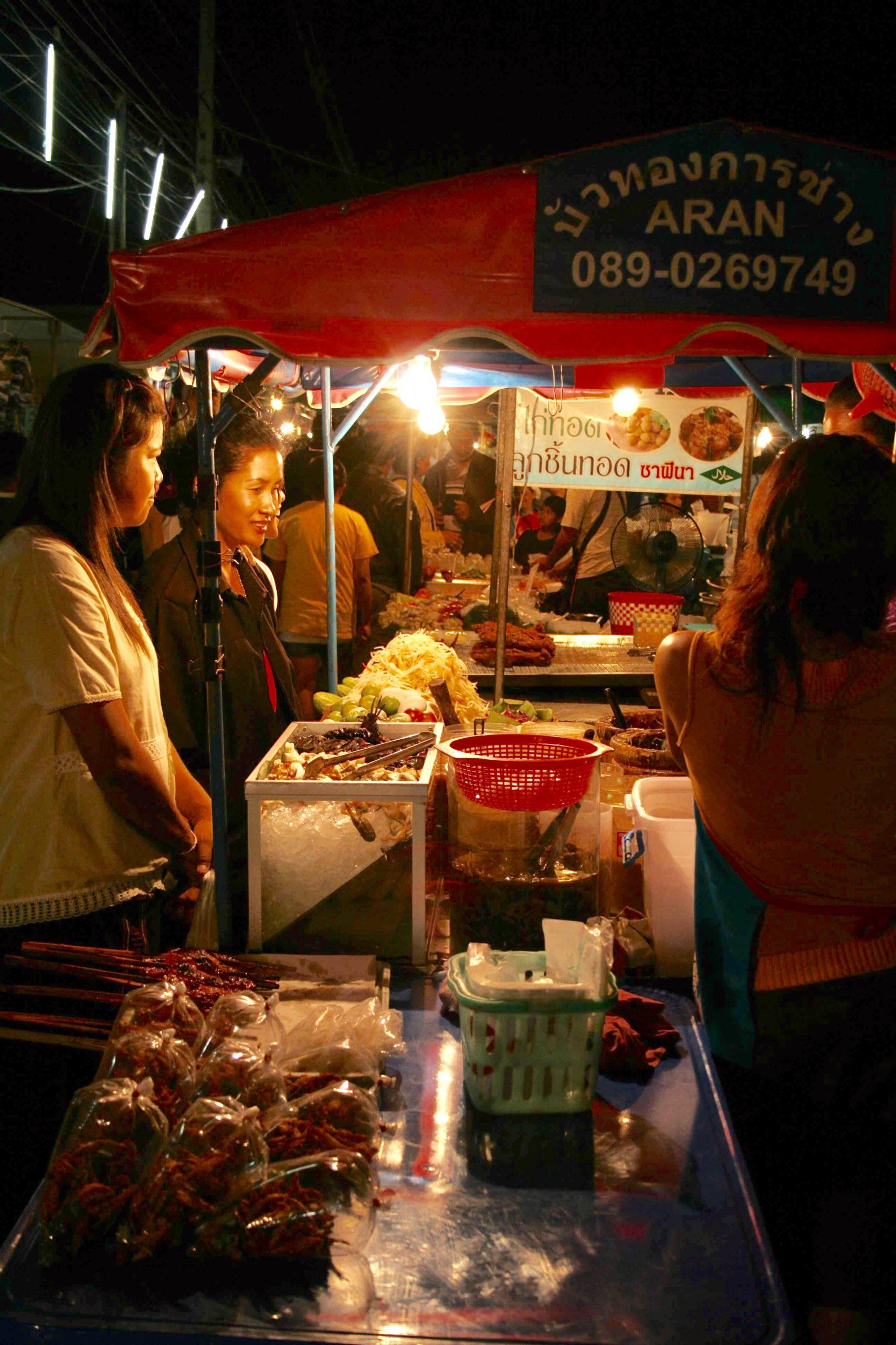 Başkent Bangkok'tan Kamboçya Sınırına Tayland-Aran Sokak Yemekleri