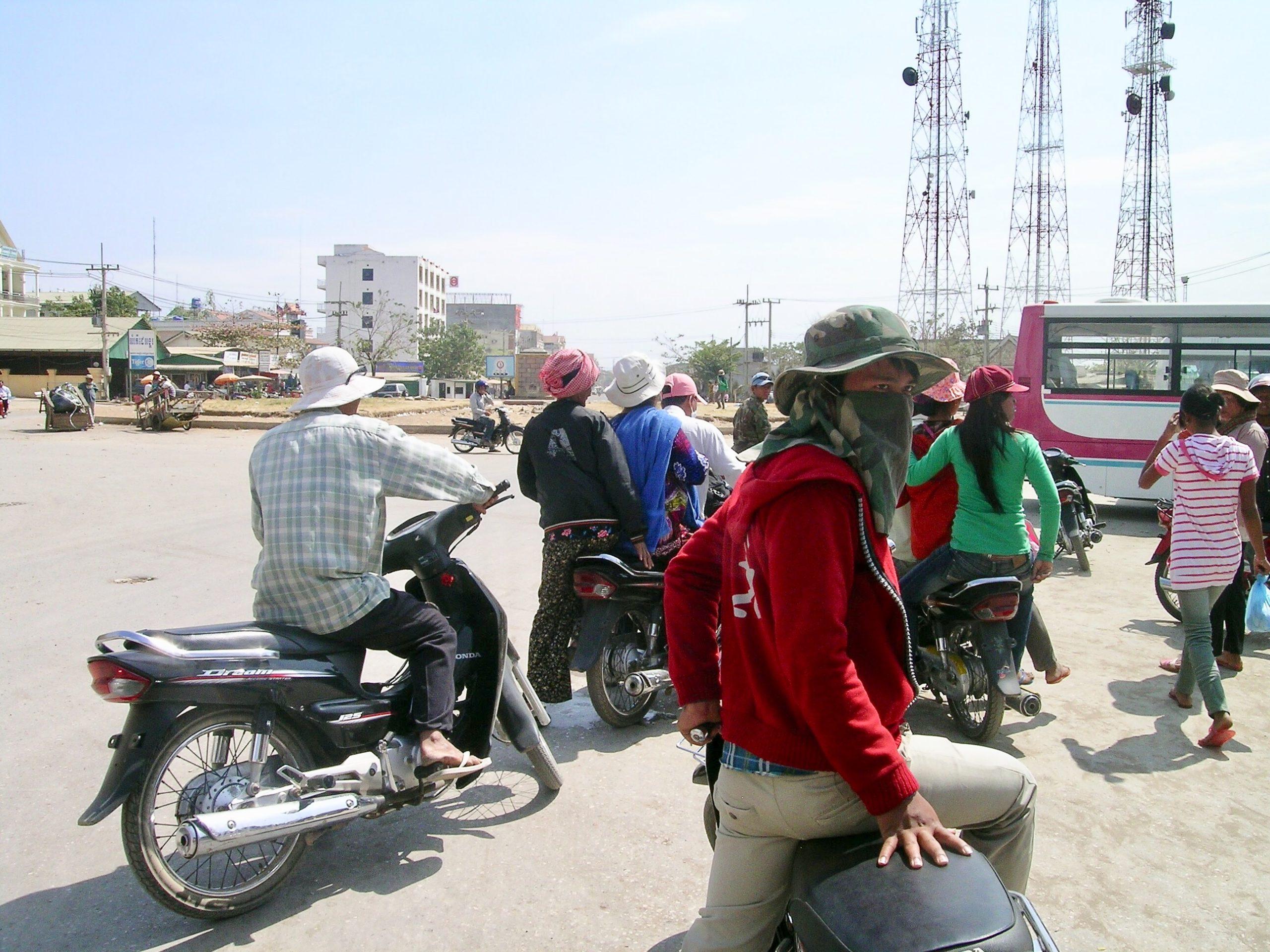 Bangkok'tan Kamboçya Sınırına Tayland-Aran