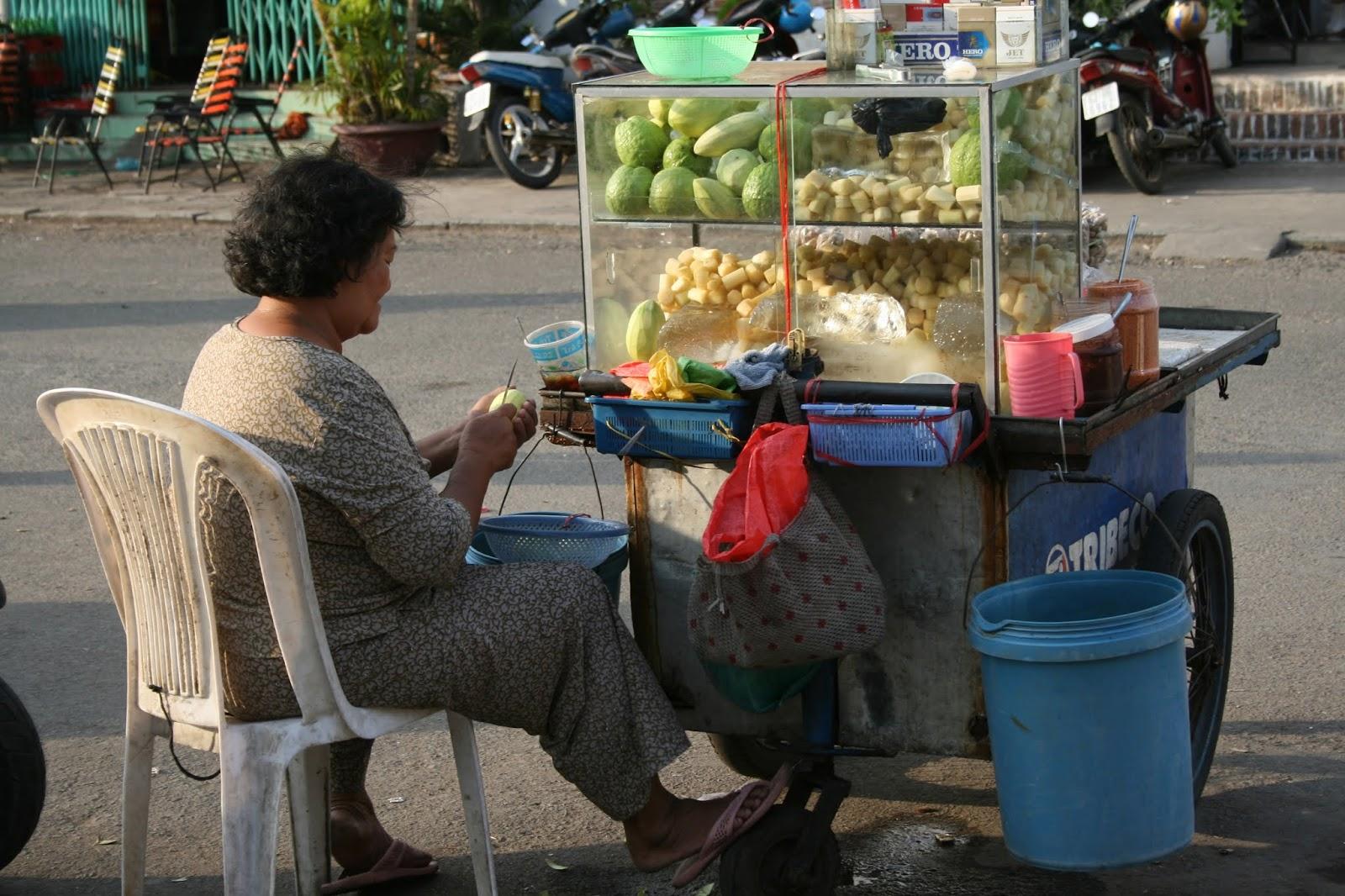 Ho Chi Minh City Sokak Satıcıları