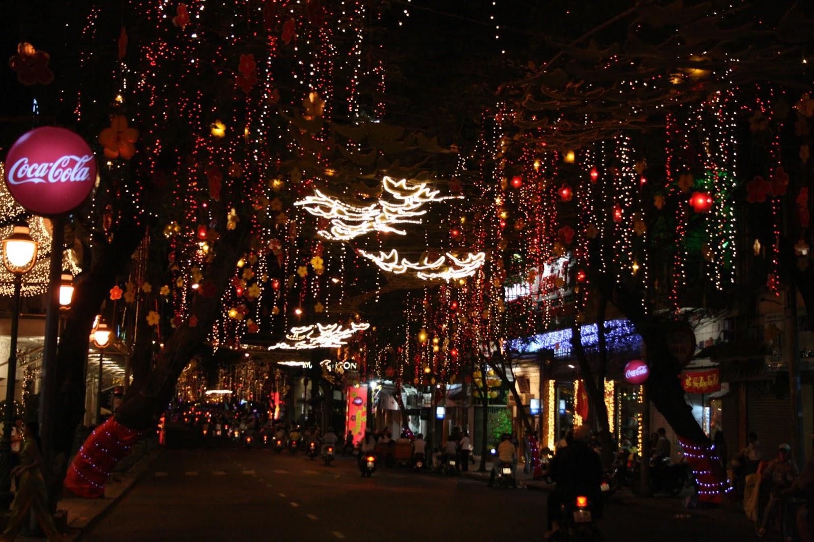 Çin Yılbaşısı Tet Kutlamaları - Ho Chi Minh City