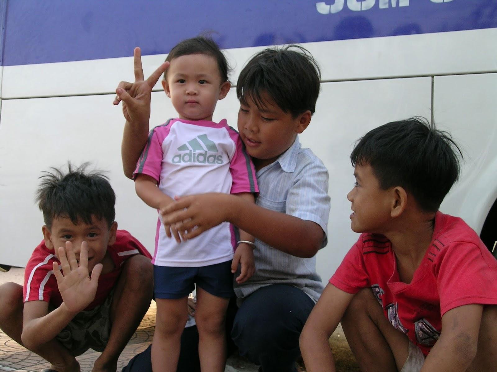 Vietnamlı Çocuklar