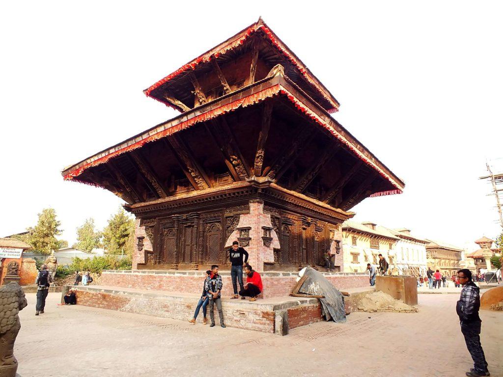Bhaktapur Gopinath KrishnaTapınağı (गोपीनाथ कृष्ण मन्दिर)