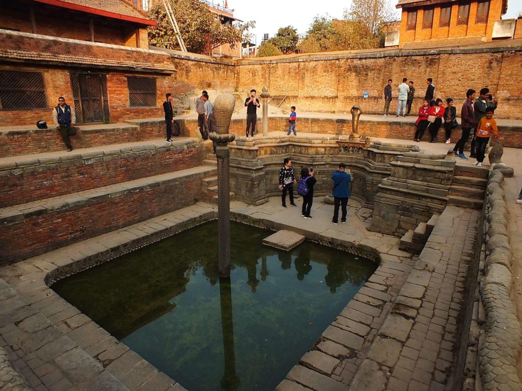 Bhaktapur 55 Pencereli Saray (पच्पन्न झ्याले दरवार) Naga Pokhari