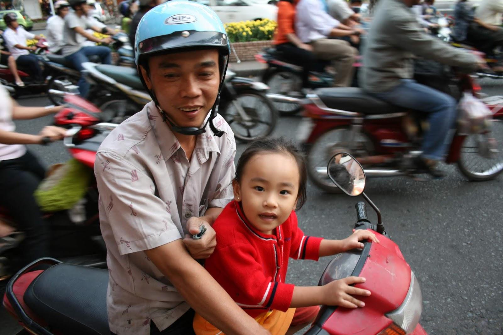 Milli Taşıma Aracı: Motosiklet Ho Chi Minh City