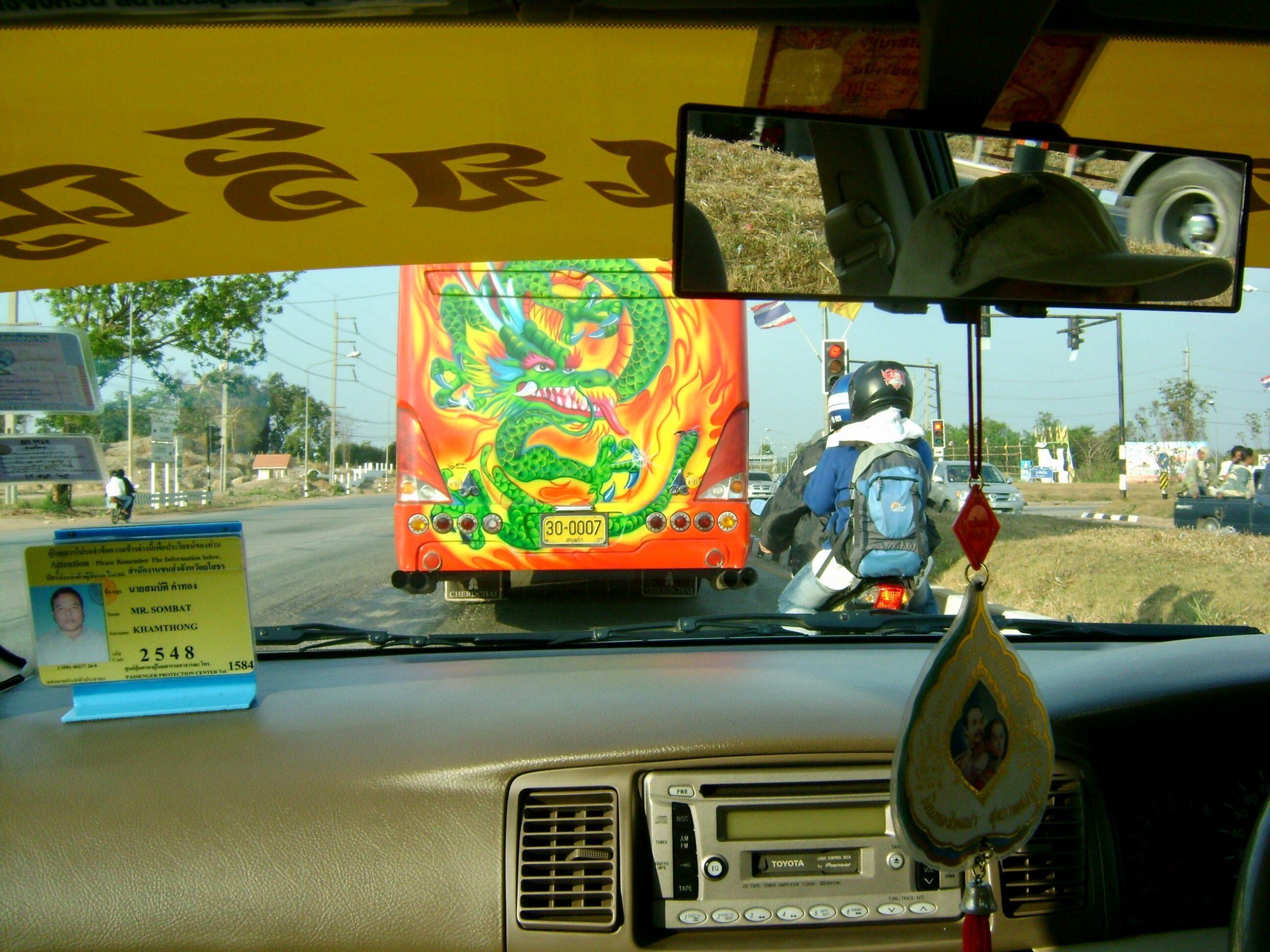 Bangkok-Aran Arası Taksi Yolculuğu