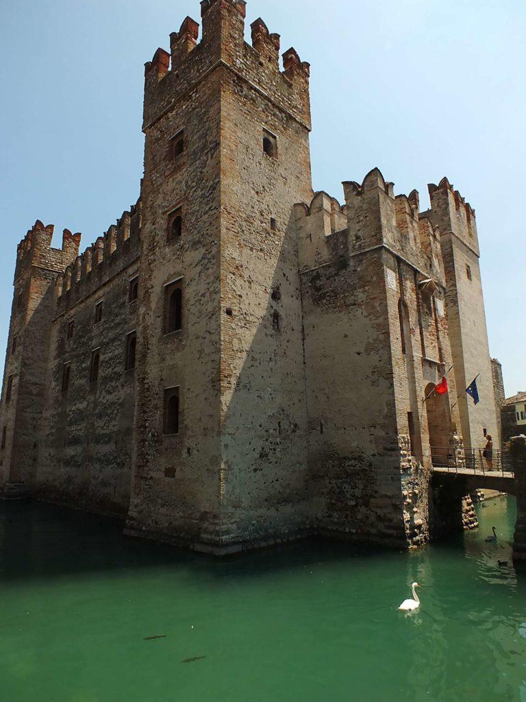 Garda Gölü Scaligero Kalesi(Castello Scaligero)