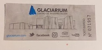 Glaciarium Patagonya Buzul Müzesi Giriş Bileti