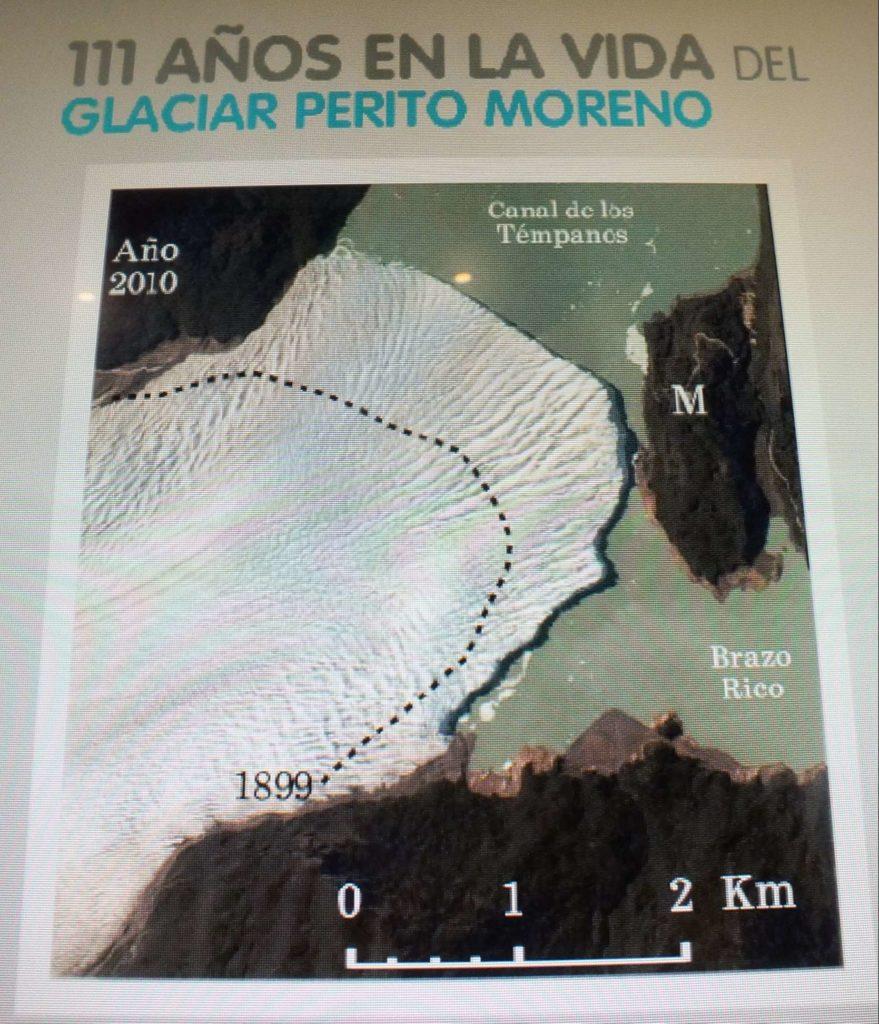 Glaciarium Patagonya Buzul Müzesi Perito Moreno Perito Moreno Buzulu Geri Çekilme Hattı