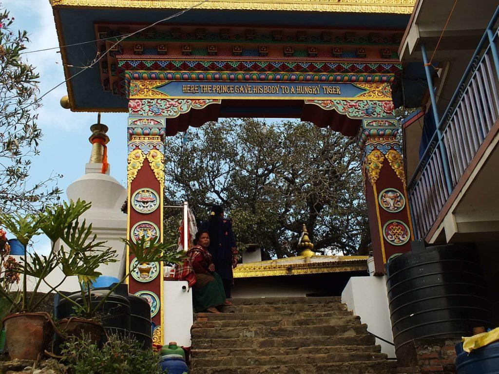 Prens Mahasatwo'nun Stupası