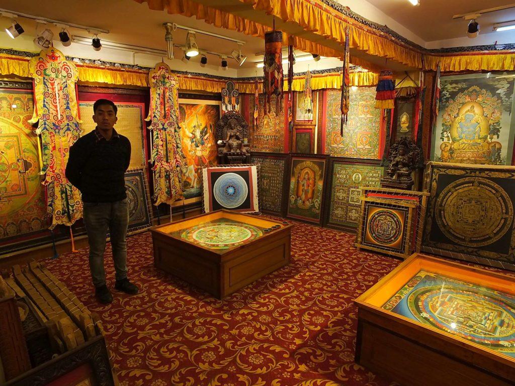 Lama Thanka Painting School (लामा थाङ्का स्कुल)