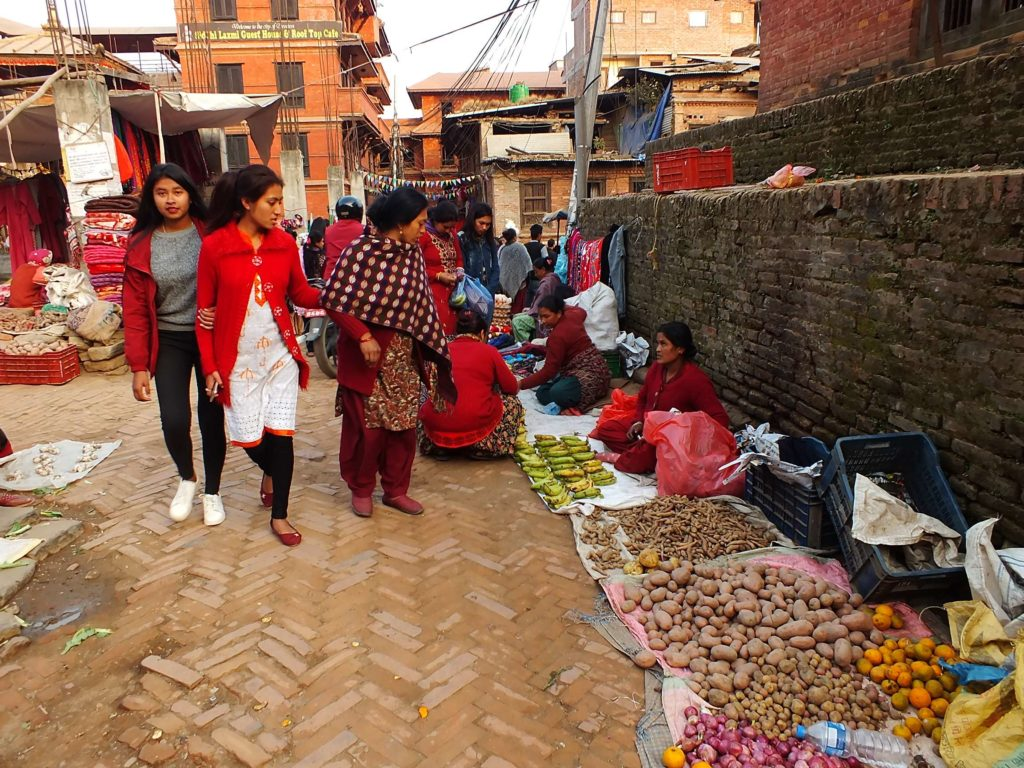 BhaktapurPazarı