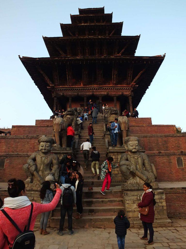 Bhaktapur Nyatapola Tapınağı (न्यातापोल प्यागोडा)