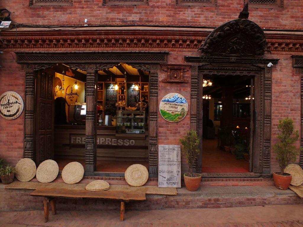 Bhaktapur'da Ne Yenir? Nerede Yenir?FreshPresso Coffee Bar