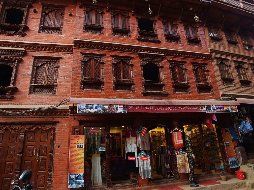 Bhaktapur'da Alışveriş