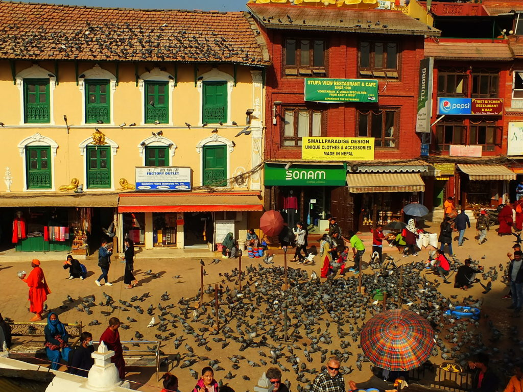 Boudhanath Tibet Mahallesi