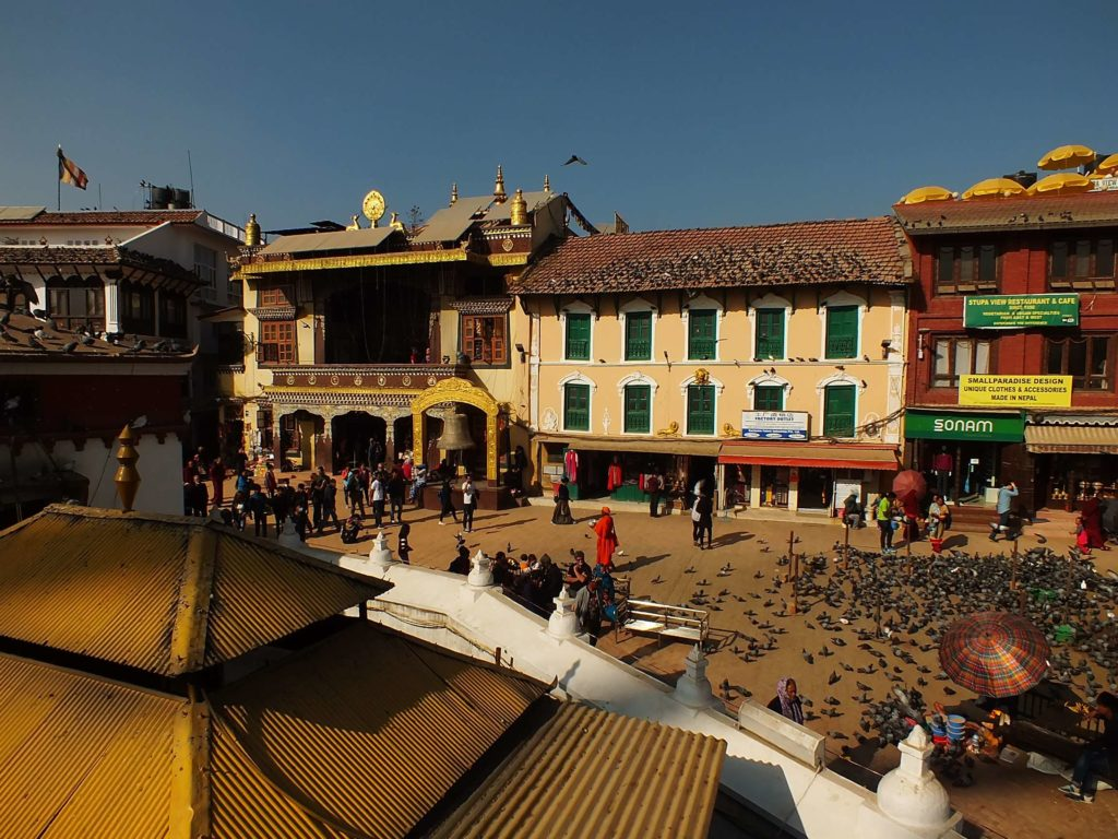 Boudhanath Stupası (बुद्ध स्तुपा)