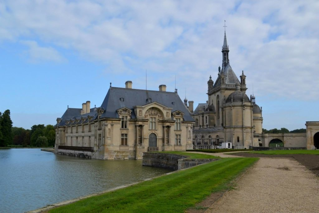 The Chateau de Chantilly Palace