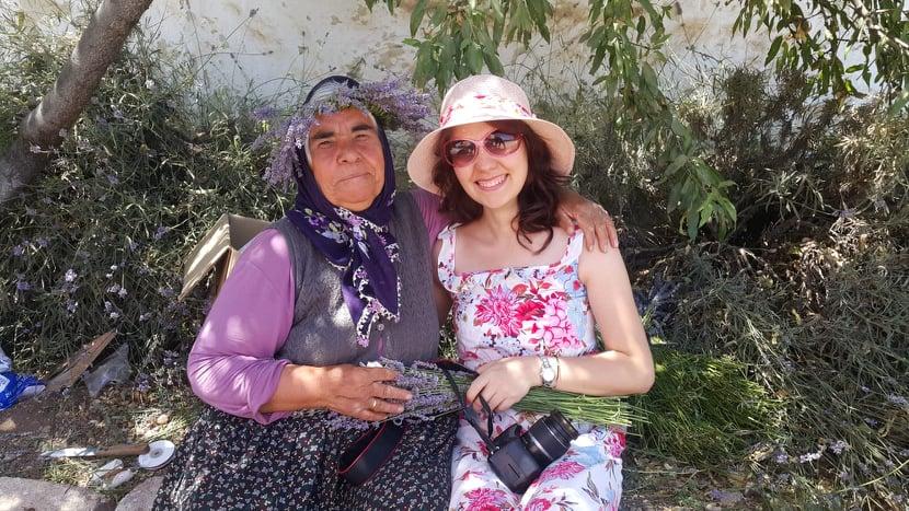Kuyucak Köyü'nde Yaşayan Bir Kadın
