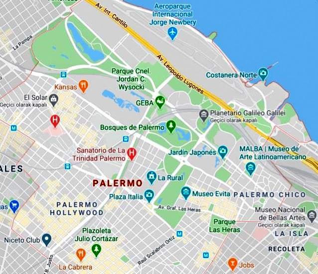 Palermo Haritası