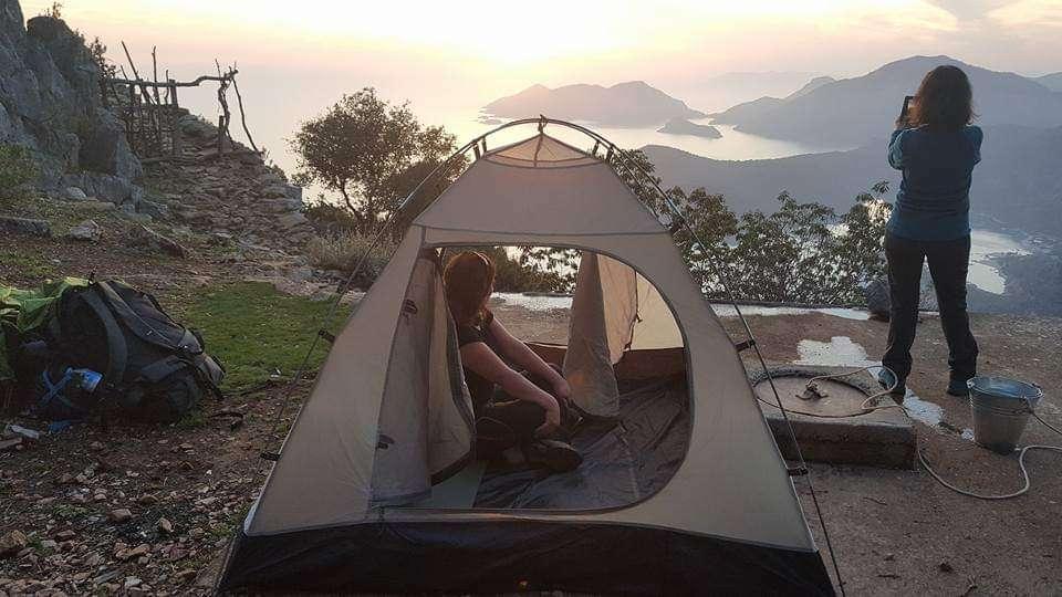 Babadağ'da Kamp