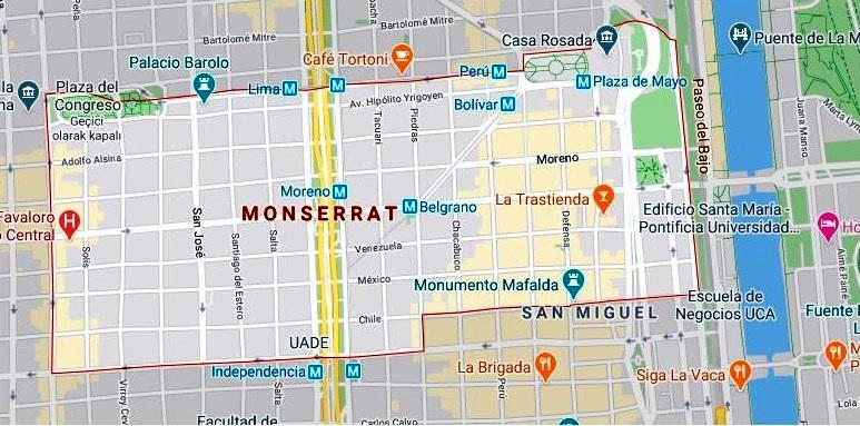 Monserrat Haritası