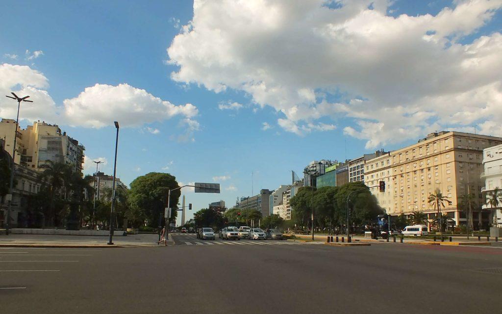 9 Temmuz Bulvarı (Avenida 9 de Julio)